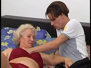A younger granny norma