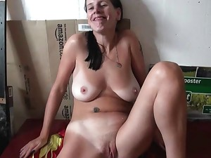 Nice-looking Compliant German Slave, Screwed and Cum on Bawdy cleft 3