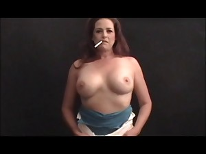 Sexy Cougar POV Smokin' 120s and Banging