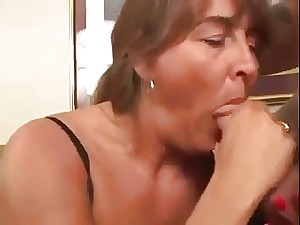 Older Squirting for us  - Unfathomable Anal youthful masculine