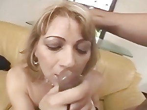 Nice-looking Older Blond difficult Anal and Ambitious Ejaculation