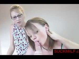 mommy receives facial from lover