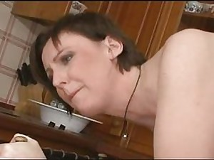 All red Milf  Copulates Sons Fere