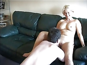 All red Milf Julie Three-some