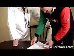 Nice granny fucking her physician