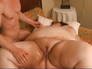 Fanciful SSBBW device drilled fisted and deepthroated