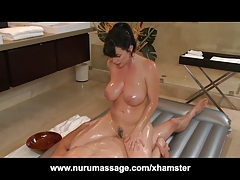 Nuru Massage Fuck with Huge Scones MILF Rayveness