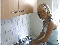 European housewife receives screwed at abode